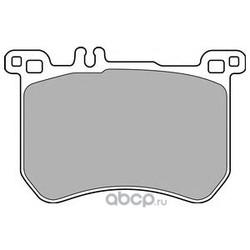 Комплект тормозных колодок (Delphi) LP2507