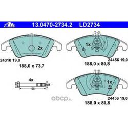 Комплект тормозных колодок, дисковый тормоз (Ate) 13047027342