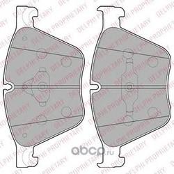 Комплект тормозных колодок, дисковый тормоз (Delphi) LP2210