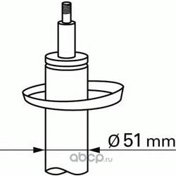 Амортизатор (Sachs) 313673