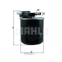 Топливный фильтр (Mahle/Knecht) KL911