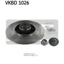 Диск тормозной с подшипником в сборе (Skf) VKBD1026