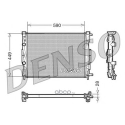 РАДИАТОР (Denso) DRM23056