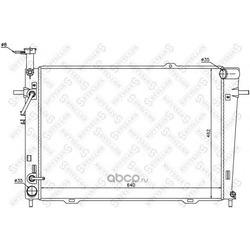 Радиатор (Stellox) 1025417SX