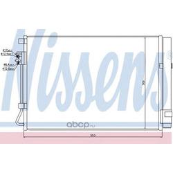 Конденсатор, кондиционер (Nissens) 940243