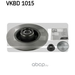 Диск тормозной с подшипником в сборе (Skf) VKBD1015