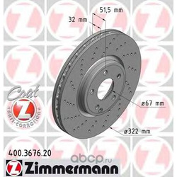 Тормозной диск (Zimmermann) 400367620