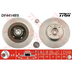 Диск тормозной (TRW/Lucas) DF4414BS