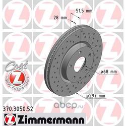 Тормозной диск (Zimmermann) 370305052