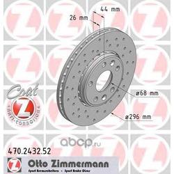 Тормозной диск (Zimmermann) 470243252