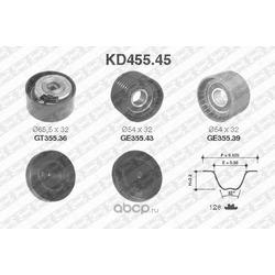 Комплект ремня ГРМ (NTN-SNR) KD45545