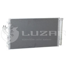 Радиатор кондиционера (конденсер) (Luzar) LRAC08S5