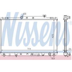Радиатор, охлаждение двигателя (Nissens) 64769A
