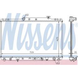 Радиатор, охлаждение двигателя (Nissens) 647681