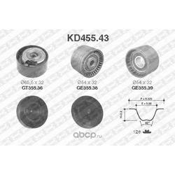 Комплект ремня ГРМ (NTN-SNR) KD45543