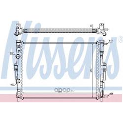 Радиатор, охлаждение двигателя (Nissens) 63765A