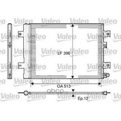 Радиатор кондиционера (Valeo) 814077