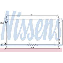 Радиатор кондиционера (Nissens) 940036