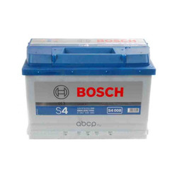 Батарея аккумуляторная 74А/ч 680А 12В обратная полярн. стандартные клеммы (Bosch) 0092S40080