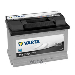 Батарея аккумуляторная 70А/ч 640А 12В обратная полярн. стандартные клеммы (Varta) 5704090643122