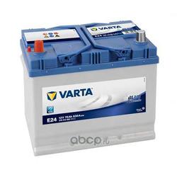 Батарея аккумуляторная 70А/ч 630А 12В прямая полярн. стандартные клеммы (Varta) 5704130633132
