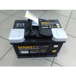 Стартерная аккумуляторная батарея (RENAULT) 7711238598