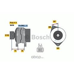 Генератор (Bosch) 0986049191