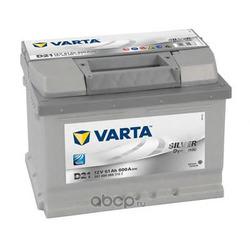 Батарея аккумуляторная 61А/ч 600А 12В обратная полярн. стандартные клеммы (Varta) 5614000603162