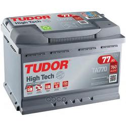 Батарея аккумуляторная 77А/ч 760А 12В обратная полярн. стандартные клеммы (TUDOR) TA770