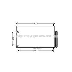 Конденсатор, кондиционер (Ava) TOA5405D