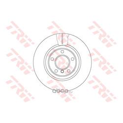 Тормозной диск (TRW/Lucas) DF6616S