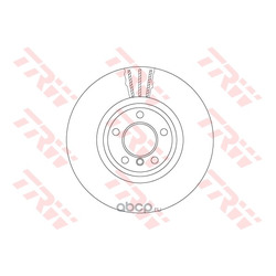 Тормозной диск (TRW/Lucas) DF6615S