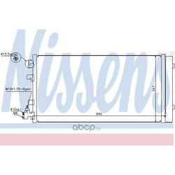 Радиатор кондиционера (Nissens) 940160