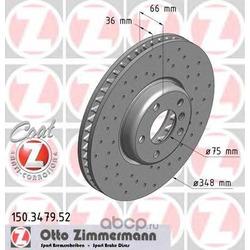 Тормозной диск (Zimmermann) 150347952