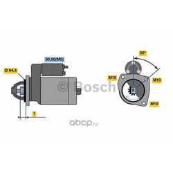Стартер (Bosch) 0986022810