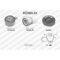 Комплект ремня ГРМ (NTN-SNR) KD45551
