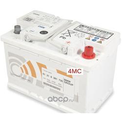 Батарея аккумуляторная 77А/ч 780А 12В обратная полярн. стандартные клеммы (BMW) 61218381730