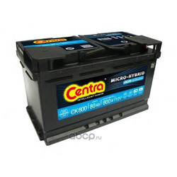 Стартерная аккумуляторная батарея (CENTRA) CK800