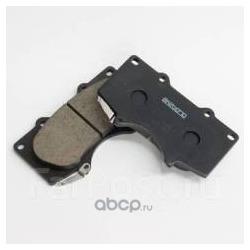 Колодки тормозные дисковые передние (Akebono) AN690WK