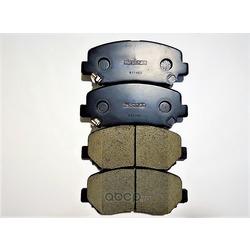 Колодки тормозные дисковые передн MAZDA: CX-5 12- (Akebono) AN783WK
