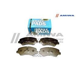 КОЛОДКИ ТОРМОЗНЫЕ ДИСКОВЫЕ ПЕРЕДНИЕ (Amiwa) CD034LA