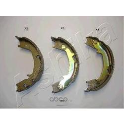 Комплект тормозных колодок (Ashika) 55H0007