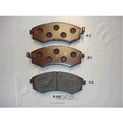 Комплект тормозных колодок, дисковый тормоз (Ashika) 50K0014