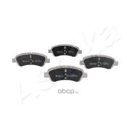 Комплект тормозных колодок, дисковый тормоз (Ashika) 50000051
