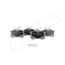 Комплект тормозных колодок, дисковый тормоз (Ashika) 510000018
