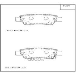 колодки тормозные (ASIMCO) KD1015