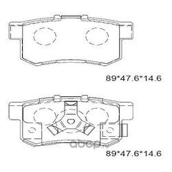 Тормозные колодки дисковые (ASIMCO) KD1517F