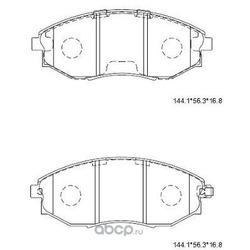 тормозные колодки (ASIMCO) KD3735