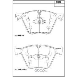 тормозные колодки (ASIMCO) KD7009