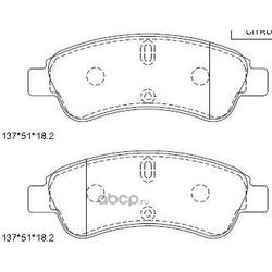 колодки тормозные дисковые (ASIMCO) KD7722
